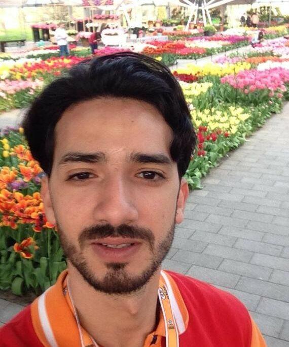 Gefeliciteerd met jouw nieuwe baan, Ayoub!